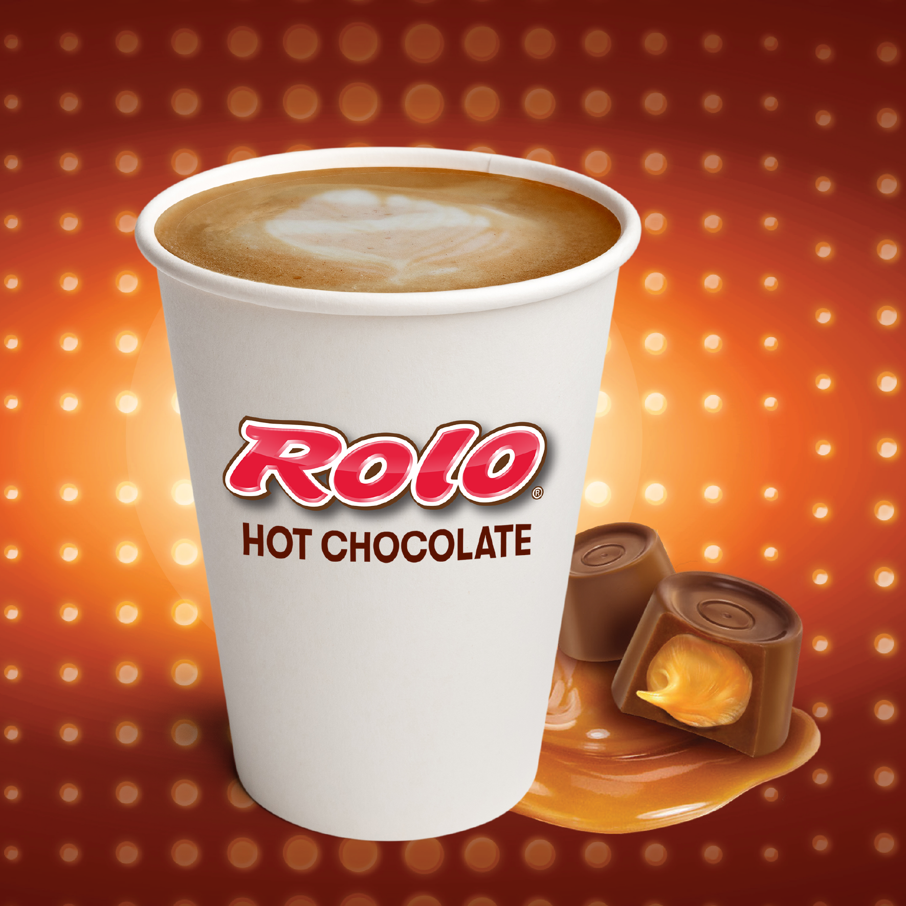 Rolo Hot Chocolate Hot Dispensed Beverage