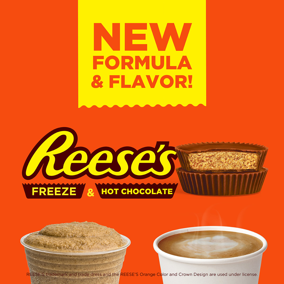 REESE'S Freeze & REESE'S Hot Chocolate - New Formula & Flavor