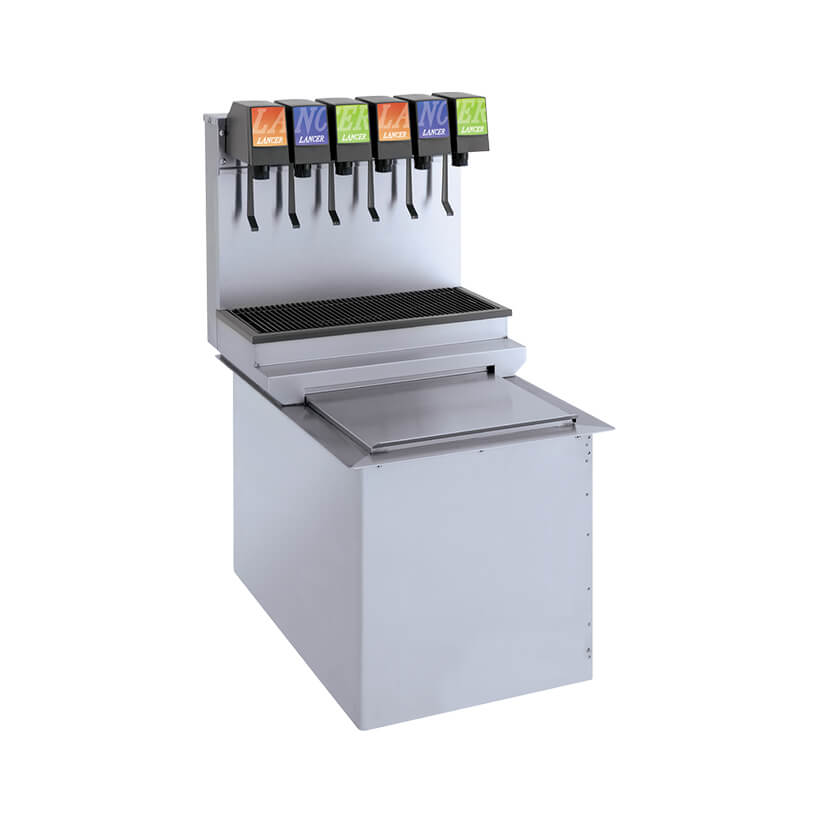 Ice Cooled Dispensers