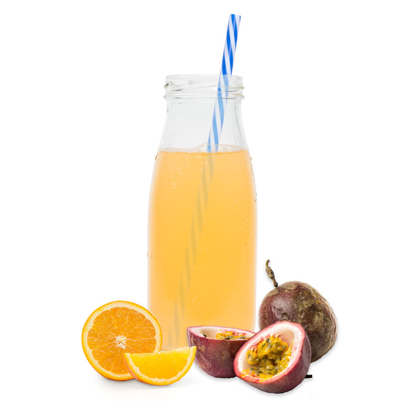 Orange Passionfruit Juice Drink